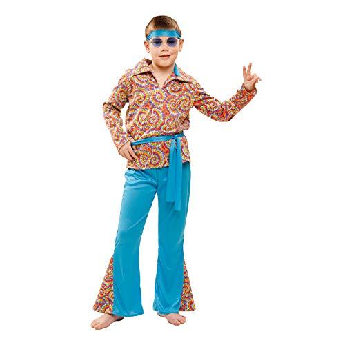 Partychimp 83-01981 - Hippie, Jungen, 10-12 Jahre, ()