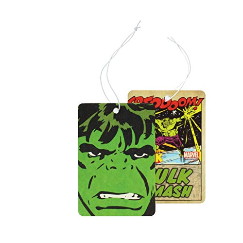 MARVEL Assainisseur d'air en Papier - Hulk - Rectangu