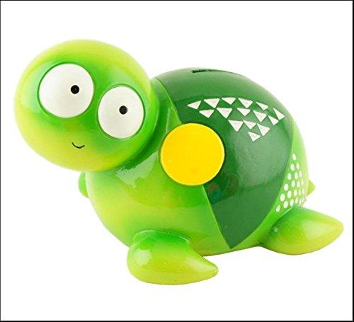 Fun tortuga verde Hucha Resina 17cm