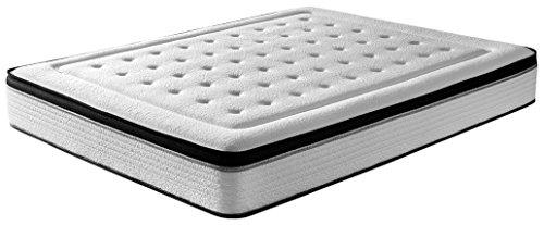 RestBed Bio Memory, INNOGEL Memory Foam-Matratze, weiß, 135 x 180 x 27 cm