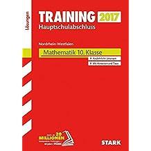 Training Zentrale Prüfung Hauptschule Typ A NRW - Mathematik Lösungen