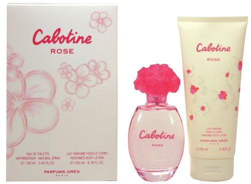 Cabotine Rose - 2 pièces Coffret Cadeau - pour Femme