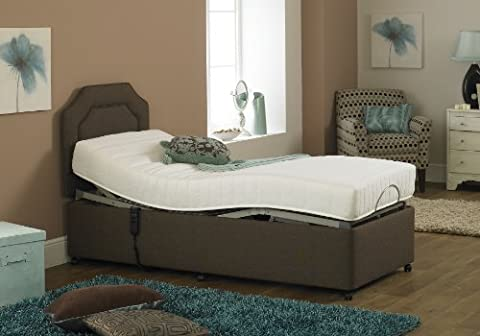 Imperial Opulence Bed with Memory Foam Mattress (3ft x 6ft6)