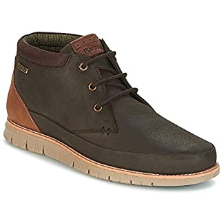 Mens Barbour Nelson Leather Winter Flat Casual Lace Up Chukka Ankle Boot 20