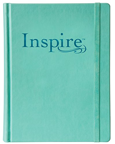 Inspire Bible-NLT-Elastic Band Closure: The Bible for Creative Journaling (Inspire: Full Size)
