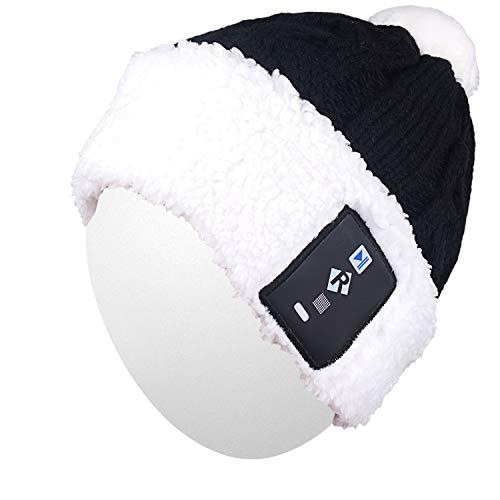 Qshell Elegante Lampadina LED Illuminare Cappello Beanie Cappello Pom Pom  Pomocchia Lampadine 18 LED per 6 0809b3792736