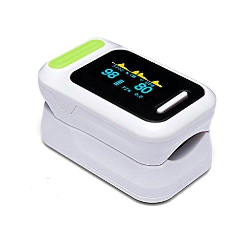 L & Y FDA genehmigt Fingertip Pulsoximeter OLED-Bildschirm Display sofort Lesen Digital Herzfrequenz Monitor Blut Sauerstoff Sleep Vormundschaft