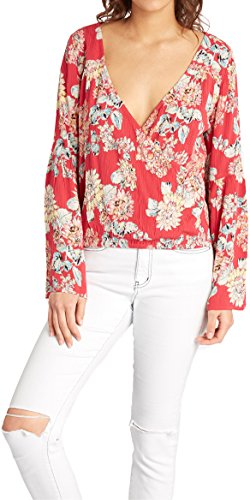 BILLABONG 2017 Ladies New You Top Hibiscus C3TP13 Sizes- - Small -