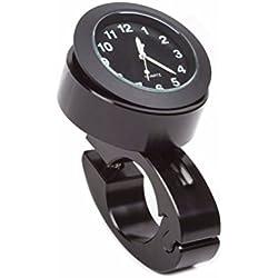 """WINOMO Guidon Mount Numérique Horloge Moto Accessoire Imperméable à l'eau 7/8"""" (Noir)"""