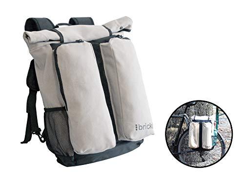 Bricki-Ware Gepäckträgertasche, Rucksack, Fahrradtasche und Fahrradrucksack No.1, stylisch, modisch, robust und praktisch