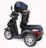 Dreirad Scooter,Seniorenmobil,Elektrofahrzeug,Elektro Scooter ECO ENGEL 500 (schwarz) Test