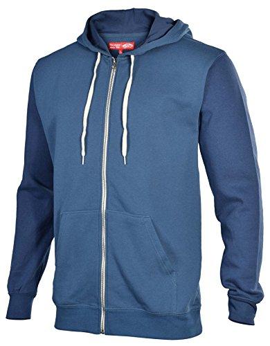 Vans core basics pull à capuche pour homme Turquoise - Bleu sarcelle/vieux bleu