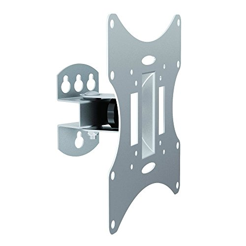 Sentivus TV Wandhalterung (TSB-32) für alle TVs von 10' bis 42' Zoll (25-107cm) - flach (90mm Wandabstand) und beweglich (schwenkbar + neigbar) - für Fernseher und Monitor jeder Marke geeignet