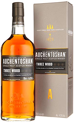 Auchentoshan Three Wood Single Malt Scotch Whisky (1 x 0.7 l)