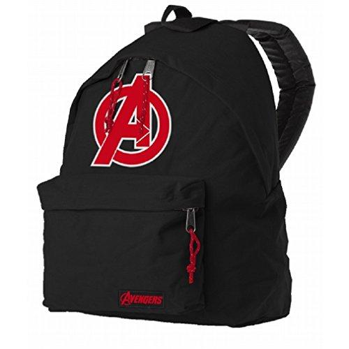 Marvel The Avengers Rucksack - Age Of Ultron Logo Backpack Schwarz