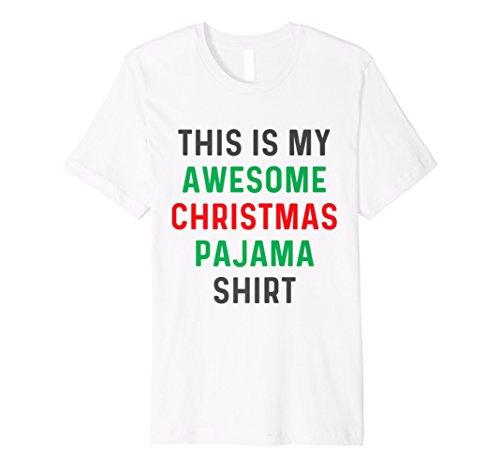 Funny Weihnachten Pyjama, T Shirt für die Familie Kinder und Erwachsene