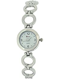 Boxx 40057Silver–Women's Wrist Watch, Metal Band–Silver
