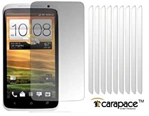HTC ONE X CLEAR 10in1 LCD SCREEN PROTECTOR SHIELD WITH FIBRE CLEANING CLOTH