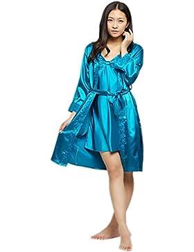 CHUNHUA modelli esplosione molla esterna pigiama usura bretelle imitazione di seta di seta due pezzi abito tuta...