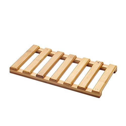 Schwimmende Regale Wandregal, Massivholz Bambus handgefertigt wasserdicht und hochwasserfest für kleine Sachen der Lagerung, Hauptdekoration