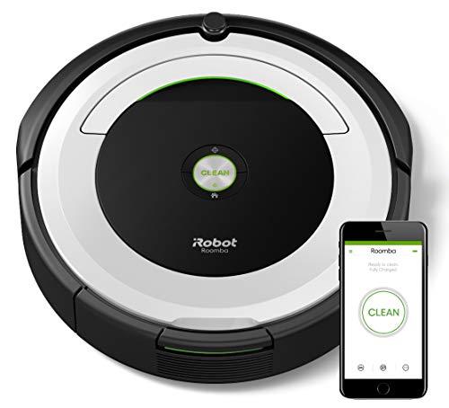IRobot Roomba 691- Robot aspirador para suelos duros y alfombras, con tecnología Dirt Detect, sistema...