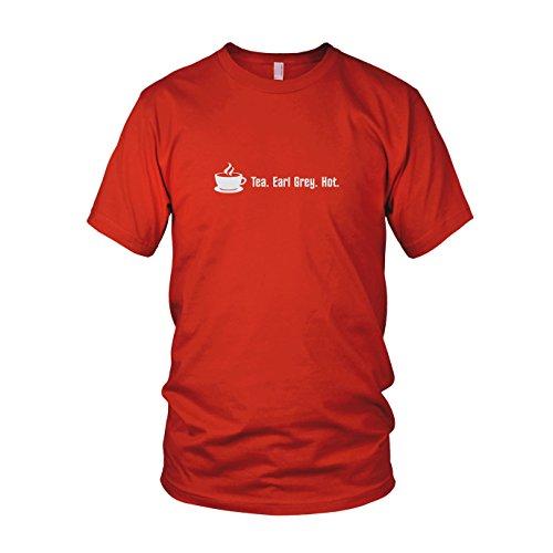 Tea. Earl Grey. Hot. - Herren T-Shirt Rot