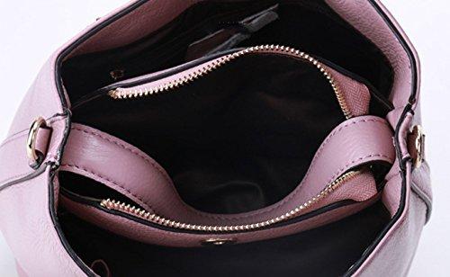 Keshi Leder Cool Damen Handtaschen, Hobo-Bags, Schultertaschen, Beutel, Beuteltaschen, Trend-Bags, Velours, Veloursleder, Wildleder, Tasche Weiß