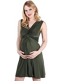 KRISP® Femmes Robe Inspiration Portefeuille Soirée Cocktails Elégante Maternité Grossesse