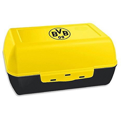 BVB 09 Borussia Dortmund Brotbüchse Brotdose (schwarz/gelb, one size)