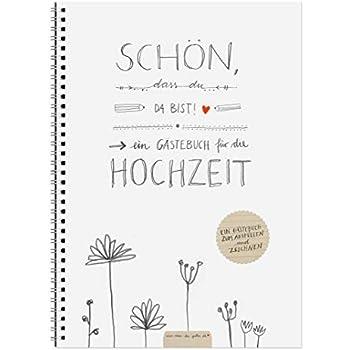 Hochzeitsgästebuch LEBE LIEBE LACHE grün, mit Fragen & zum