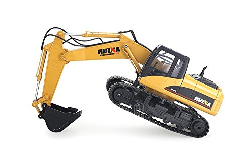 HuiNa Toys1550 15Channel 2.4G 1/12RC Metal Excavator Charging RC Car by HuiNa