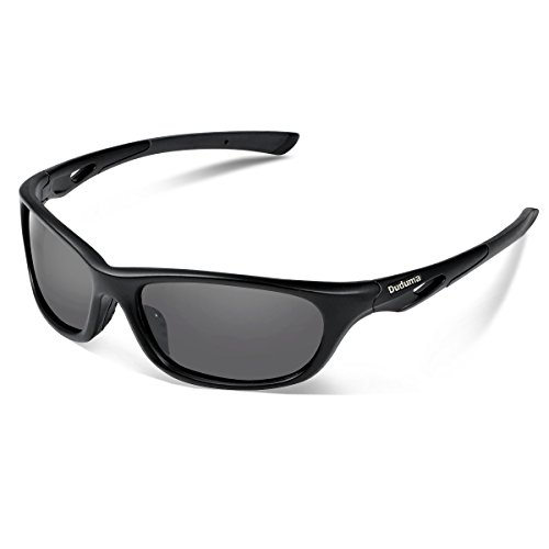 Duduma Polarised Sports Sunglasses for Baseball Running Cycling Fishing Riding Driving Golf with Unbreakable Frame Du646
