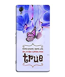 PrintVisa Designer Back Case Cover for Sony Xperia Z2 (moment with dream come true)