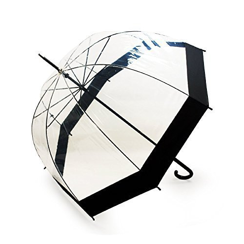 lavievert-transparentschirm-durchsichtiger-glockenschirm-mit-schwarzem-rand