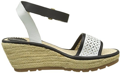 Fly London - Ekal969fly, Sandali Donna Nero (black/offwhite 003)