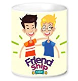 Jikraa Friendship Day Coffee Mug Multicolor 350 ml
