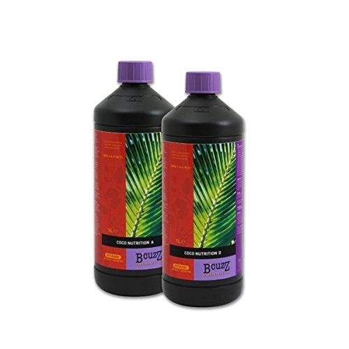 Grow Fertilizer Coco Nutrition A+B B'Cuzz (2x1L) - Coco Grow Medium