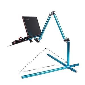 Sanlise(TM) Universal Blue Adjustable Mount Holder Stand Cradle for Notebook/Laptop Magical Portable Stand for Laptop