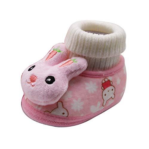 Sanahy_baby Mädchen Jungen Soft Booties Schneeschuhe Schuhe Bootie, rutschfeste Babysocken