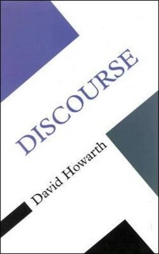 DISCOURSE (Concepts in the Social Sciences) por David Howarth