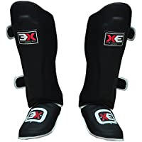 PROFESSIONAL CHOICE 3X Shin Instep Foam Pads Foot Protector Muay Thai Kick Boxing MMA UFC Martial Arts Leg Protector