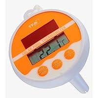 TFA Dostmann neonorange piscina controllo della temperatura termometro 30.1041.13