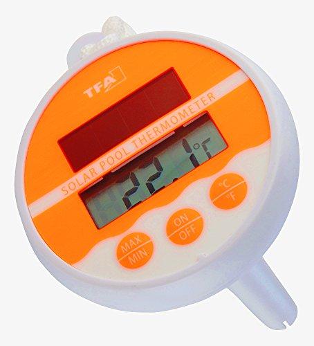TFA Dostmann neonorange piscina termometro 30.1041.13