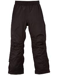Gonso - Pantalón de lluvia infantil, talla DE: FR : 14-16 años(Talla del fabricante : 164), color negro / negro