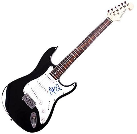 John Cougar Mellencamp Hand Signed Guitar AFTAL UACC RD COA