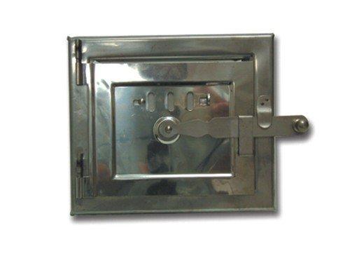 Stahltür Brand Mit 15x18 cm Heizregister