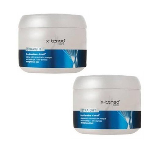2 LOT X L'oreal Professionnel X-tenso Care Straight Masque (196 gm X 2 )