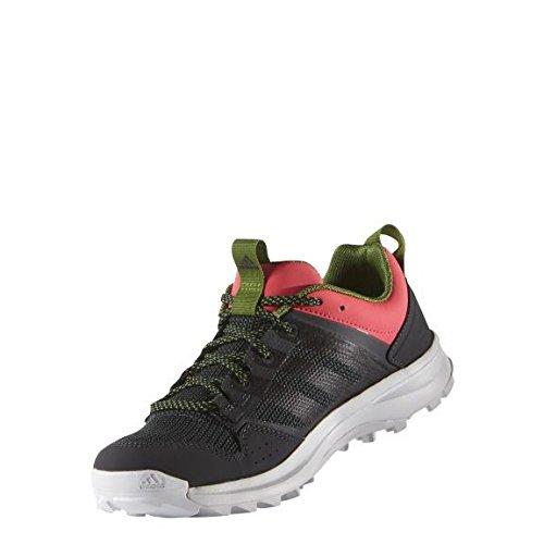 adidas Damen Kanadia 7 TR W Laufschuhe, Grau/Schwarz/Rot (Griosc/Negbas/Rojimp), 38 2/3 EU -