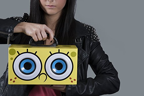 "Image of NEW! SpongeBob SquarePants Speaker ""Bob Eyes"" Party Speaker - SB0019 - Yellow"