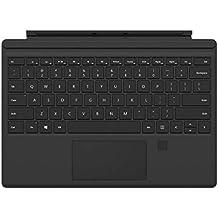 Microsoft Custodia con Tasti e Riconoscimento Impronte Digitali per Surface Pro 4, (Di Tasti)